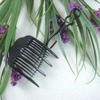 Магия одетый в 20px для волос инструмент волосы булочка / хвоствик зеленый пин