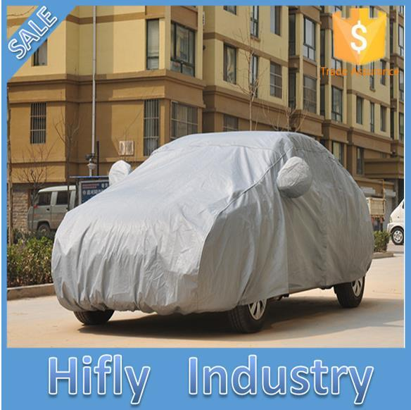 AU047 With cotton sewing cotton garment PEVA waterproof sunscreen clothing increase car cover