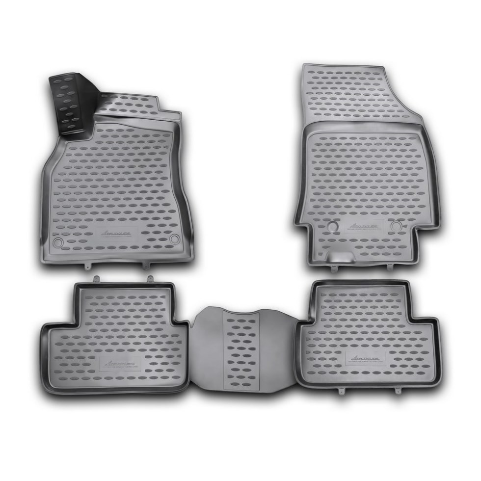 лучшая цена New 3D Floor mats for Renault Fluence 2010 2011 2012 2013 2014 2015 2016 Element From Russia Stock Free shiping