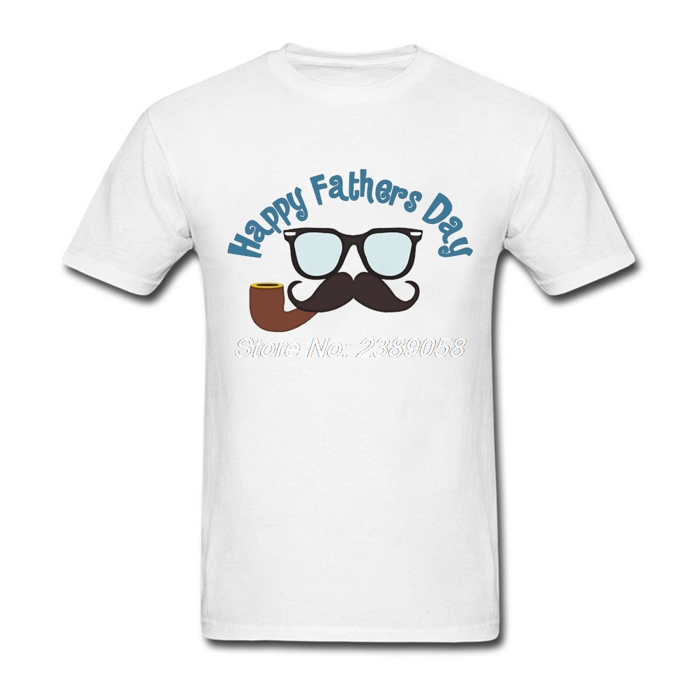 Brand Man t-shirt Happy Fathers Day New Coming Tees Short Sleeve O Neck Cheap Tee Shirts for Men