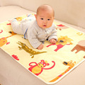 90*60cm Baby Cartoon Reusable Matelas Infant Cover Bedding Nappy Burp Mattress Waterproof Sheet Diapering Urine Changing Pads