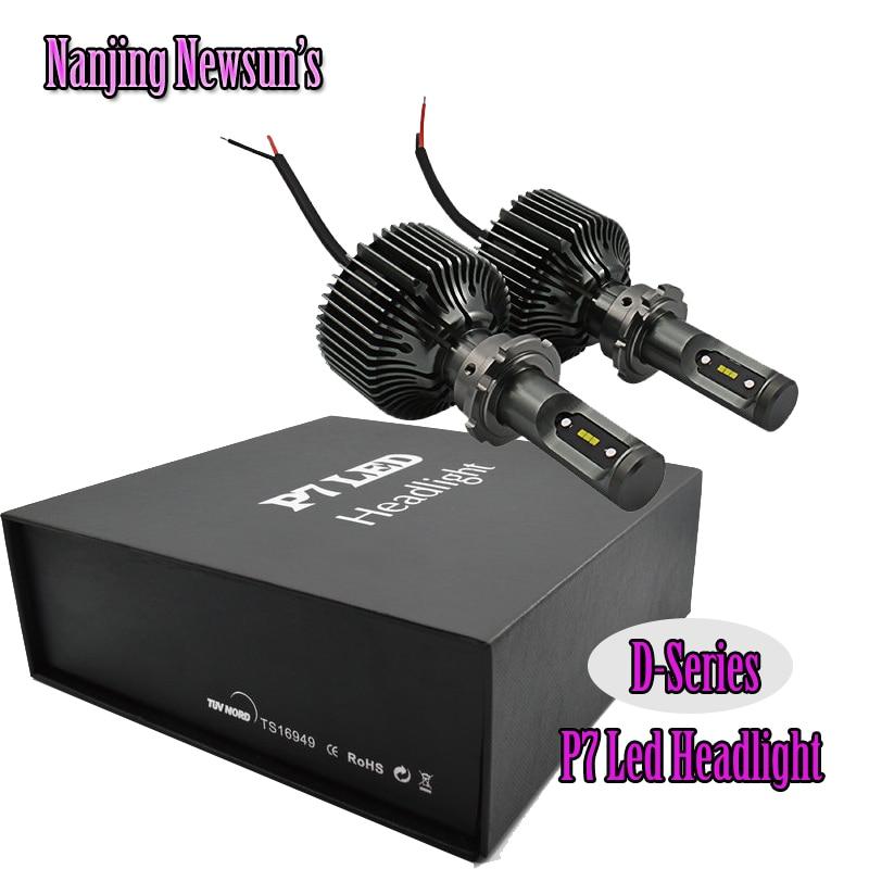 ФОТО 2PCs 30W 12V 24V 6000K Xenon HID White Bulb D1 D2 D3 D4 Led Lighting Headlight  D1s D2s D3s D4s Driving Led Head Lights 12V 24V