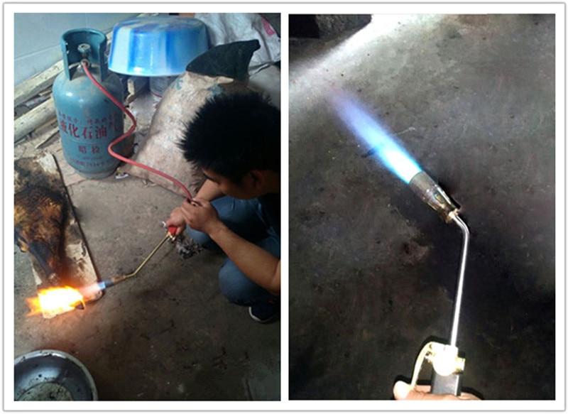 Gas LPG Tig Antorcha Pistola Soplador Pistola de gas Lanzallamas - Herramientas eléctricas - foto 6