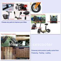 бесплатная доставка 800 вт мотор 36v20ah литиевая батарея складной электрический скутер черный с зеркало