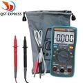 QSTEXPRESS ZT102 Multimeter 6000 counts Back light AC/DC Ammeter Voltmeter Ohm Frequency Diode Temperature