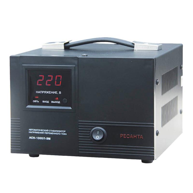 Voltage stabilizer RESANTA ASN-1000/1-EM