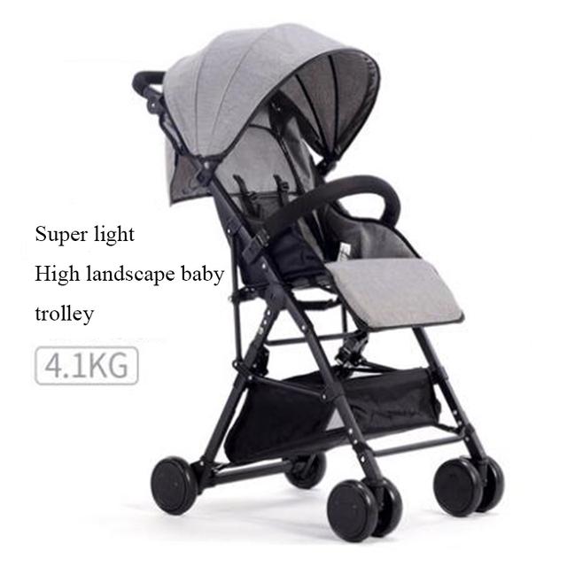 Cochecito de bebé hadnd paraguas coche de bebé plegable portátil ultraligero bb cochecito de bebé