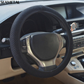 Car Steering Wheel Cover 3D Big Mesh Without Inner Circle Anti-Slip Four Seasons Universal Decoration Accessories Car-styling