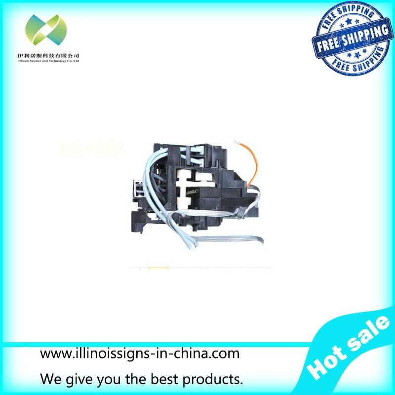 ФОТО   DX5 Solvent Printhead Manifold/Adapter Original printer parts
