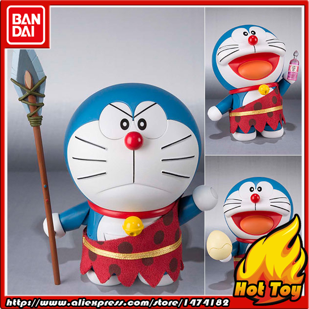 100% Original BANDAI Tamashii Nations Robot Spirits Action Figure No.194 - Doraemon from