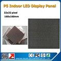 Бесплатная доставка 2 шт. много 32 x 32 пикселей 160 x 160 мм 3528SMD rgb из светодиодов панели P5 крытый из светодиодов панель