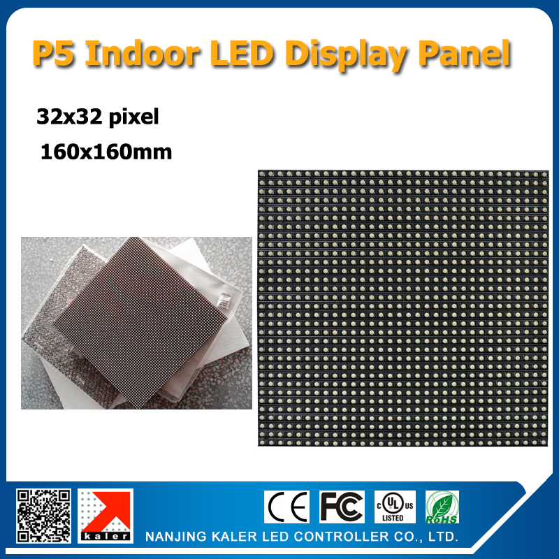 Free shipping 2pcs a lot 32x32pixel 160x160mm 3528SMD rgb led panel P5 indoor led panelFree shipping 2pcs a lot 32x32pixel 160x160mm 3528SMD rgb led panel P5 indoor led panel