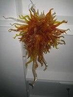 Frete Grátis Modern Flor Luxuoso Lustre Hand Blown Vidro Murano para Villa|flower chandelier|murano blown glass|modern luxury chandelier -