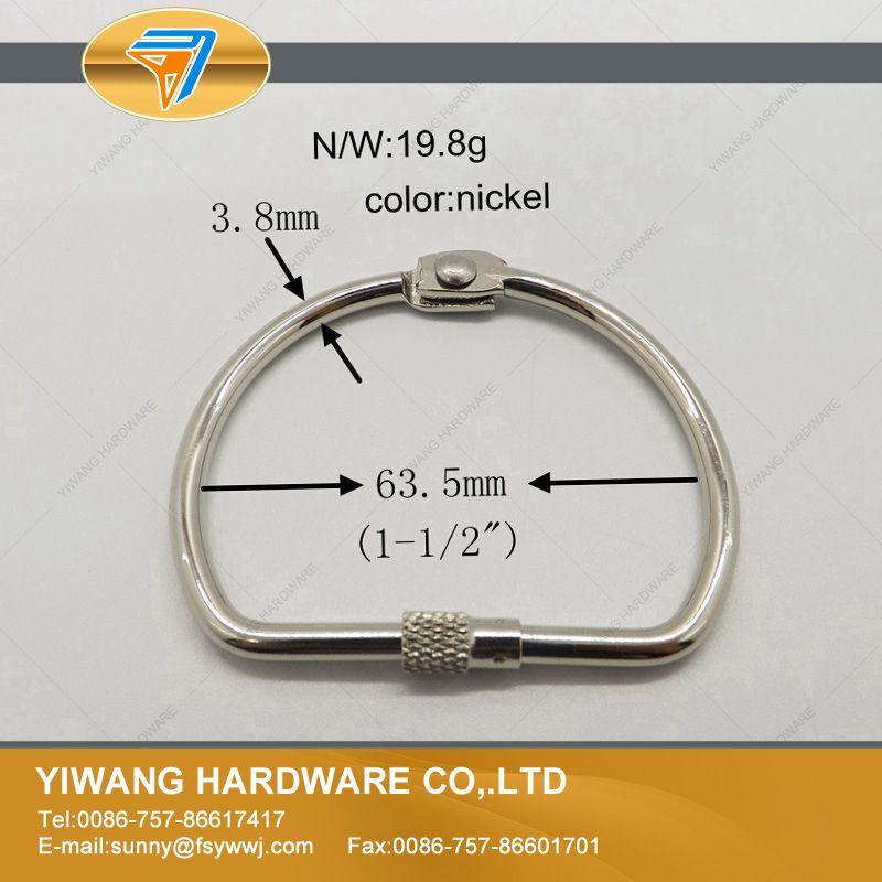chapeamento d anel de metal forma 03