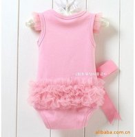 кружево принцесса розовый носит группа сочетает детские одежда для парни верхний одежда Top Gaga сделки