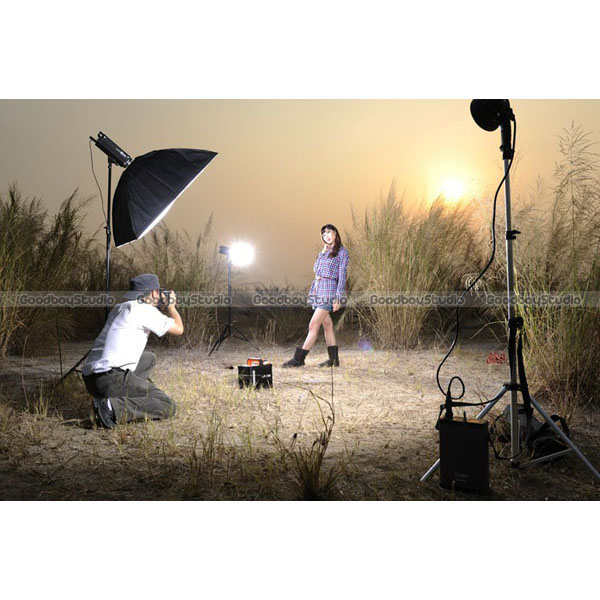 Outdoor Strobe Light Portable lighting for outdoor photography nicefoto 680w portable outdoor photography lighting kit jinbei hd 600 ii 600w high speed workwithnaturefo