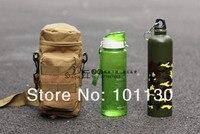 бесплатная доставка! молл бутылки воды утилита медик чехол цифровой камуфляж молл молнию сумки с небольшой мешок тан