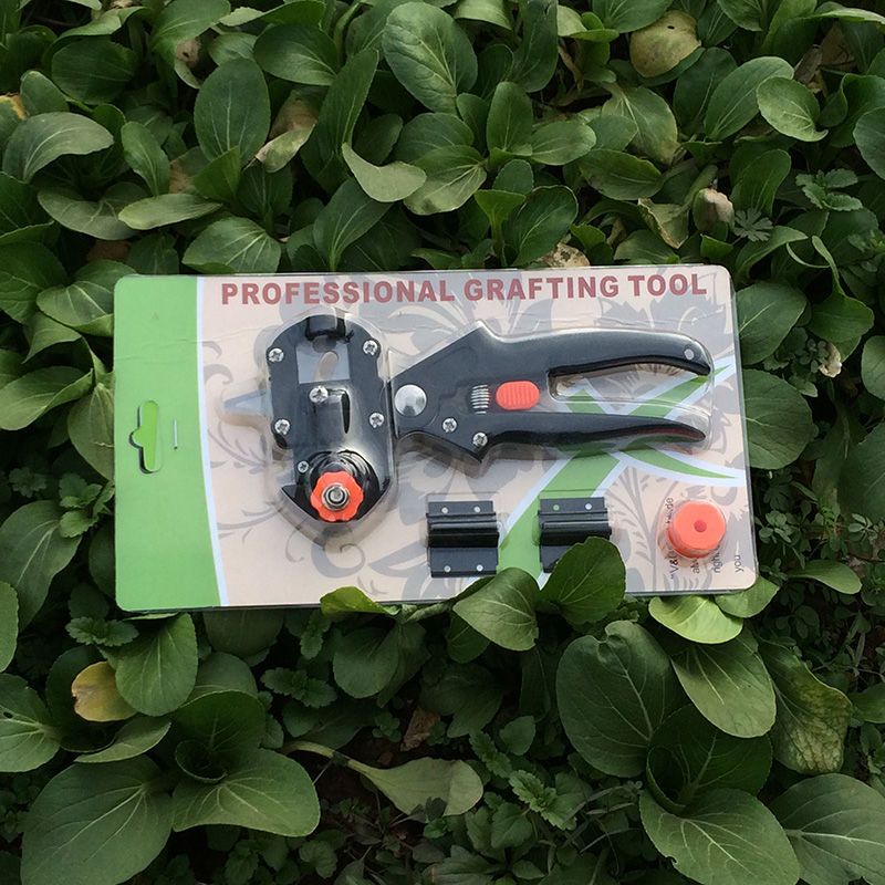 Máquina de enxertia Ferramentas de Jardim com 2 Lâminas Ferramentas Podão Enxertia Pruner Tesouras de enxertia ferramenta de Corte Da Árvore jt001