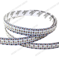 100m Lot WS2812 Led Strip Pixel 144led 144IC M DC5V Built In IC White Black PCB
