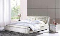 простой спальня двуглавый слой кожаное кресло в гамак мягкая кровать