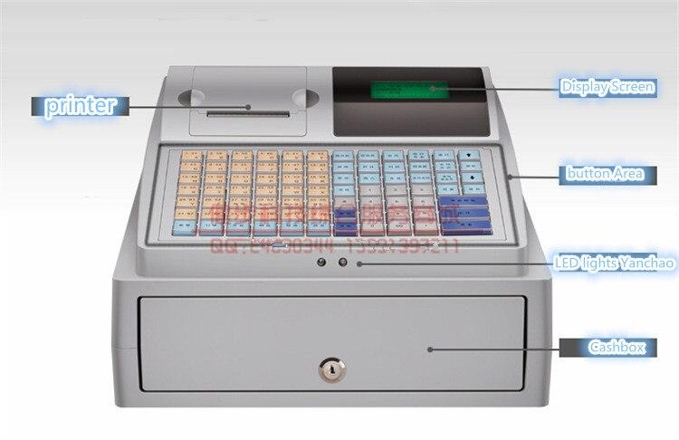 2016 nouvelles caisses enregistreuses électroniques de haute qualité caisse enregistreuse POS caisse enregistreuse multifonctionnelle supermarché thé au lait