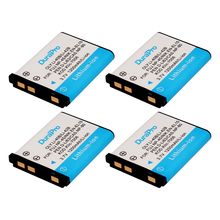 4 x np-45 durapro 1200 mah 3.7 v li-40b li-42b 42b 40b NP45 EN-EL10 DLI63 D-Li108 DLI108 NP-80 NP80 CNP80 KLIC-7006 K7006 batería