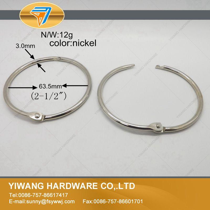 fabricante direto aliexpress hot produtos de escritorio pasta de anel 10 unidades pacote anel pendurado anel