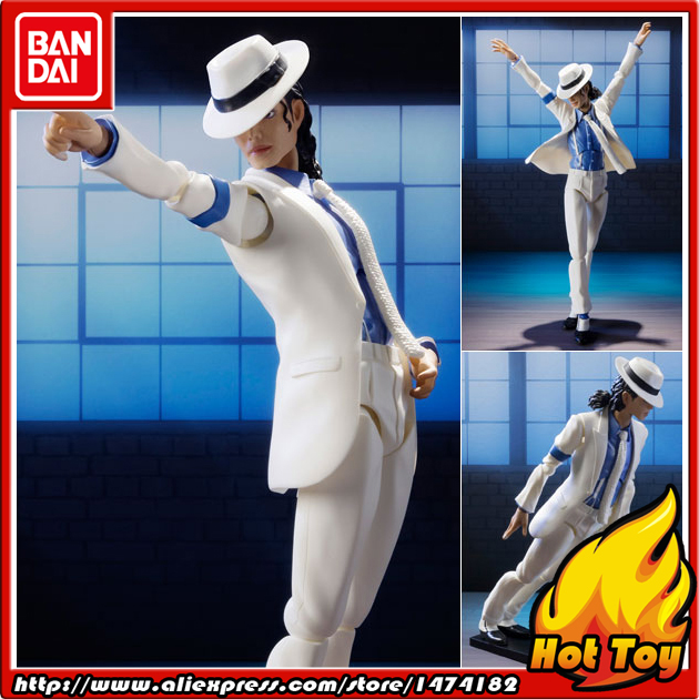 100% Original BANDAI Tamashii Nations S.H.Figuarts (SHF) Action Figure - Michael Jackson from