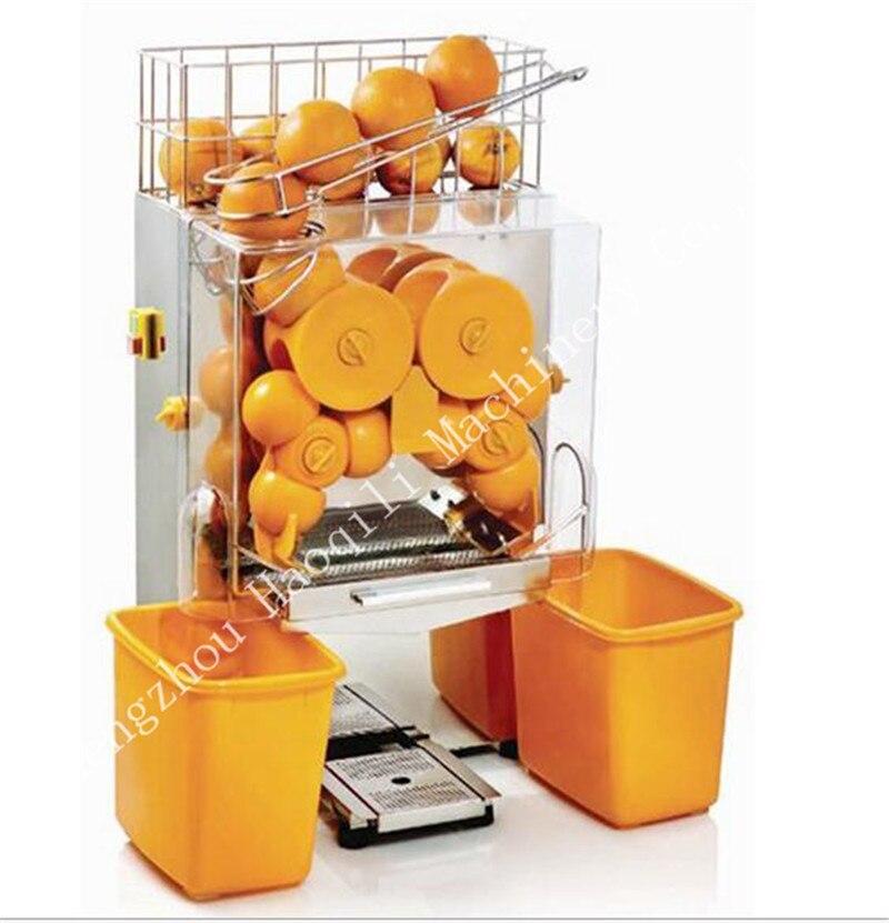 Orangen entsaften