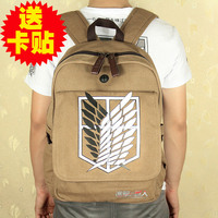нападение на титан не shingeki нет стальной алхимик аниме косплей рюкзак мешок