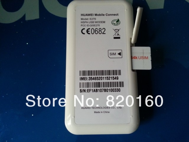 MODEM USB HUAWEI E270 DRIVERS FOR MAC DOWNLOAD