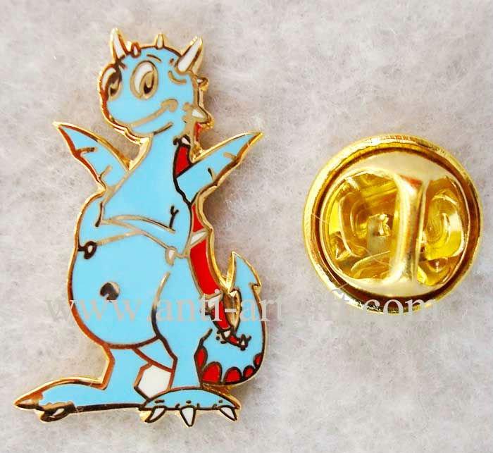 Индивидуальный металлический значок имитация, жесткие, покрытые эмалью в стиле животных мультфильм kangroo форма с синей эмалью