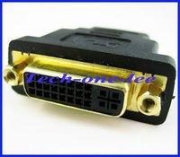 быстрая скорость кабель HDMI женское к DVI на мне женское 24 + 5 DVI и адаптер преобразователь