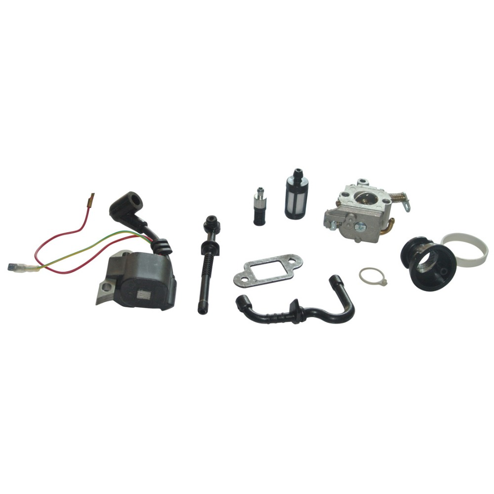 Ignition Coil Carburetor Inlet Manifold Kit Fit For STIHL 017 018 MS170 MS180 Chainsaw Parts  цены