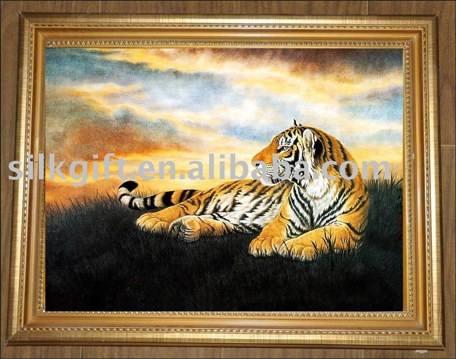 the best selling Chinese tiger face paint CX 071,painting frame used ...