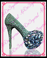 Aidocrystal Libre del diseñador del envío zapatos de las mujeres de lujo 2016 real azul cristalino de las mujeres zapatos de tacón alto las mujeres bombas