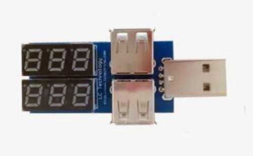 Free Shipping!!  Voltage And Current USB / Mobile Power Detection Module /Electronic Component