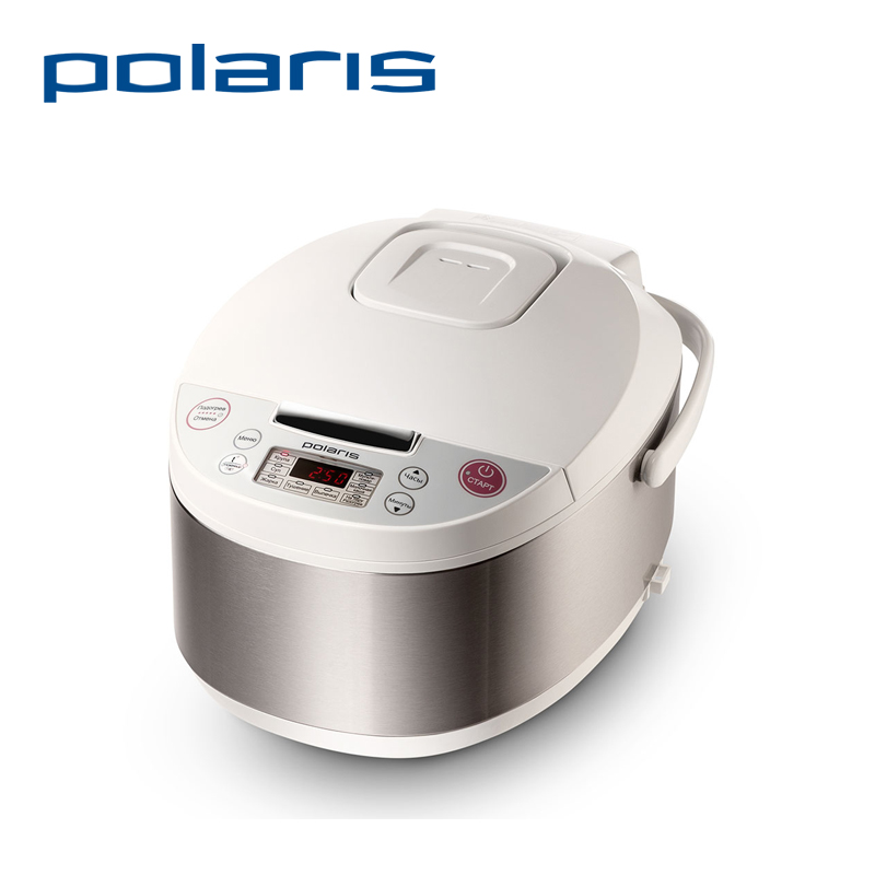 Multivarka Polaris PMC 0308AD household MultiFunctional Rice Cooker Reservation&Timing Food heating Non-Stick Coating 600W 3L