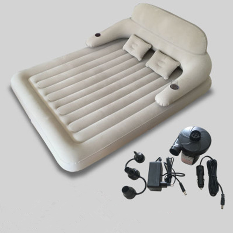 Fashion Folding Bed Waterproof Inflatable Mattress With Backrest Bedroom Furniture Mueble De Dormitorio Camas Free Shipping