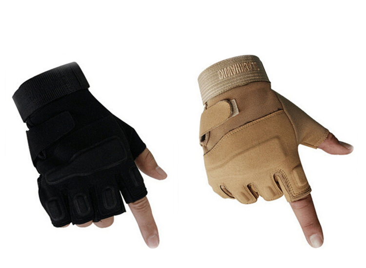 High Quality Military Tactical Gloves Gym Men Fighting Half Finger Army Gloves Fitness Anti-slip  Sports Gloves M/L/XL GLV-0022