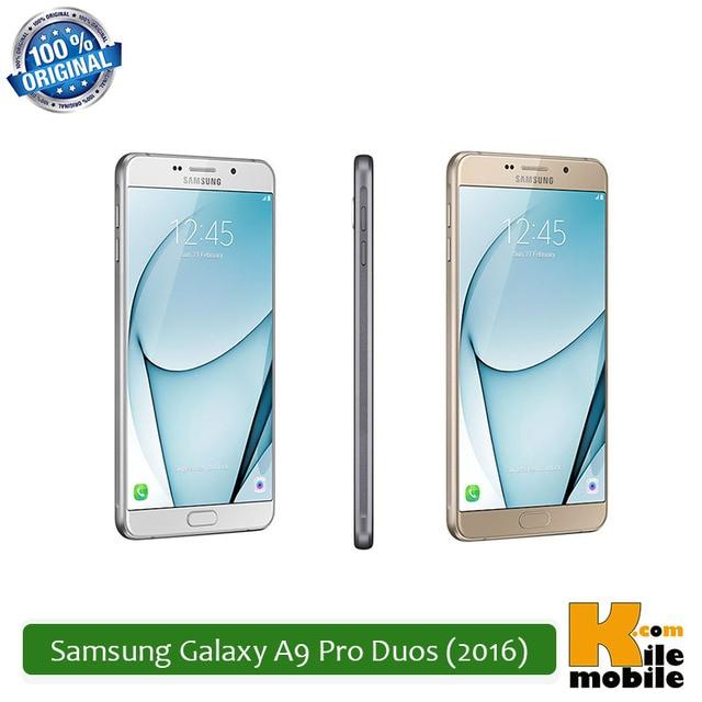 Original Samsung Galaxy A9 Pro Duos (2016) 32GB 4GB RAM 5000mAh Dual Sim Snapdragon 652 4G LTE Smartphone
