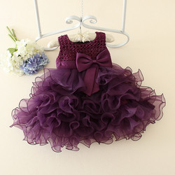 Hot sale 2019 Summer Girls Wedding&Birthday Party One-Piece Dresses Princess Children Clothes For Kids Baby Clothing Girl Dress