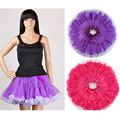 High Quality Women Tulle Tutu Skirt Sexy Mini Fancy Adult Petticoat Fluffy Ballet Dance Skirt For Lady