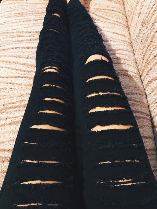 Пост о джинсах, в которые я так ждала (и ждала совсем недолго) и они почти оправдали мои ожидания