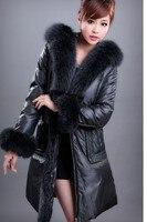 пуховик pastor марка пуховик, куртка женщины с Рош мех для женщины зима высокая класса женщины куртки