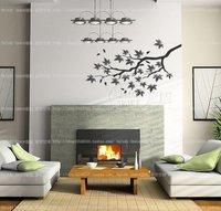 ветка главная комната декор съемный стикер стены / наклейка / украшения b40333