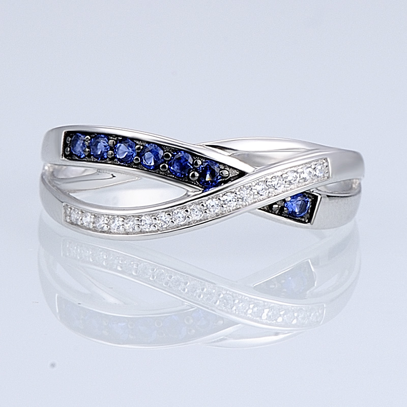 Silver Ring - R304249SBZZSK925-SV8