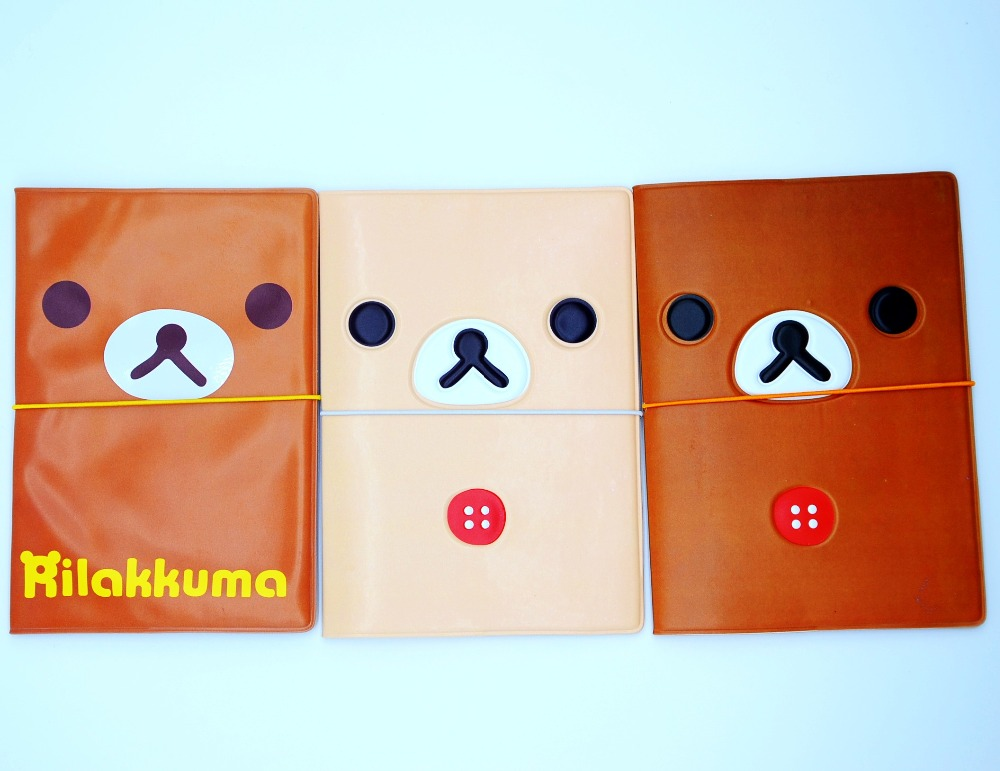 Rilakkuma Easy Bear Creative Cartoon Pvc Passport Sets Of Hong Kong And Macao Passport Manufacturers To Promote Luggage & Bags Card & Id Holders