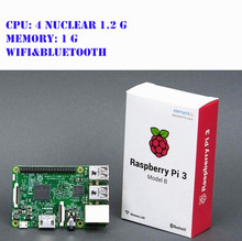 2 pieces Raspberry Pi Model 3 B onboard wi-fi and bluetooth broadcom – 4 nuclear 1.2 G CPU, memory 1 G, onboard BCM43143