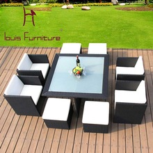 Modern home sitting room the cane makes up furniture combination Creative outdoor leisure weaving rattan chair cushion